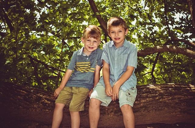 Rodzeństwo chłopcy