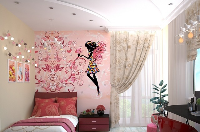 Pokój dziecka dziewczynki
