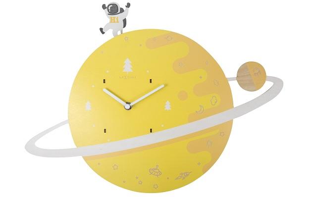 Zegar w kształcie planety